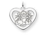 Disney Tigger Heart Charm style: WD204W