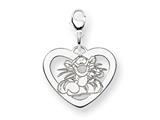 Disney Tigger Heart Lobster Clasp Charm style: WD205SS