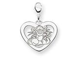 Disney Tigger Heart Lobster Clasp Charm style: WD205W