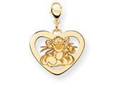 Disney Tigger Heart Lobster Clasp Charm style: WD205Y