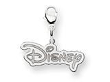 Disney Disney Logo Lobster Clasp Charm style: WD209W