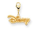 Disney Disney Logo Lobster Clasp Charm