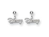 Disney Disney Logo Dangle Post Earrings style: WD212SS