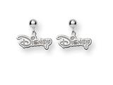 Disney Disney Logo Dangle Post Earrings style: WD212W