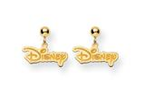 Disney Disney Logo Dangle Post Earrings style: WD212Y