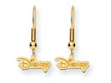 Disney Disney Logo Dangle Wire Earrings