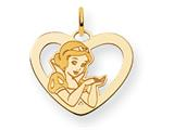 Disney Snow White Heart Charm style: WD214Y
