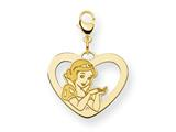 Disney Snow White Heart Lobster Clasp Char style: WD215GP