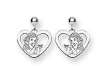 Disney Snow White Heart Dangle Post Earrin style: WD216W