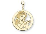 Disney Snow White Round Lobster Clasp Char style: WD220GP