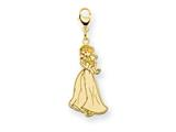 Disney Snow White Lobster Clasp Charm style: WD223GP