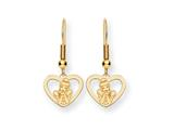 Disney Cinderella Heart Dangle Wire Earrin style: WD225GP