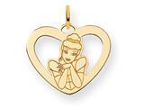 Disney Cinderella Heart Charm style: WD226Y