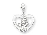 Disney Cinderella Heart Lobster Clasp Char