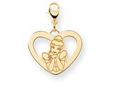 Disney Cinderella Heart Lobster Clasp Charm style: WD227Y