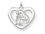 Disney Aurora Heart Charm style: WD232W