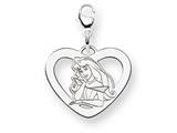 Disney Aurora Heart Lobster Clasp Charm style: WD233SS