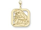 Disney Aurora Square Lobster Clasp Charm style: WD237GP