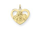 Disney Ariel Heart Charm style: WD240GP