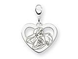 Disney Ariel Heart Lobster Clasp Charm style: WD241W