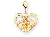 Disney Ariel Heart Lobster Clasp Charm style: WD241Y