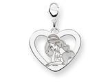 Disney Jasmine Heart Lobster Clasp Charm style: WD242W
