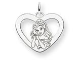 Disney Belle Heart Charm style: WD246SS