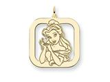 Disney Belle Square Charm