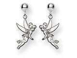 Disney Tinker Bell Dangle Post Earrings style: WD255SS
