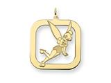 Disney Tinker Bell Square Charm style: WD264GP