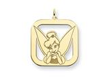 Disney Tinker Bell Square Charm style: WD266GP