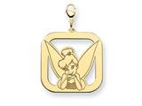 Disney Tinker Bell Square Lobster Clasp Ch style: WD267GP