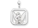 Disney Tinker Bell Square Lobster Clasp C style: WD267SS