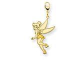 Disney Tinker Bell Lobster Clasp Charm style: WD273GP