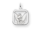 Disney Tinker Bell Square Charm style: WD274W