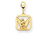 Disney Tinker Bell Square Lobster Clasp Charm style: WD275Y
