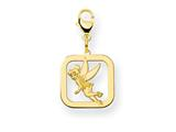 Disney Tinker Bell Square Lobster Clasp Ch style: WD277GP