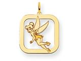 Disney Tinker Bell Square Charm style: WD278Y