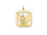 Disney Tinker Bell Square Charm style: WD280GP