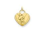 Disney Tinker Bell Heart Charm style: WD282GP