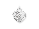 Disney Tinker Bell Heart Charm