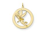 Disney Tinker Bell Round Charm style: WD284GP