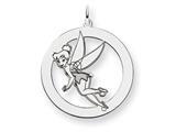 Disney Tinker Bell Round Charm style: WD284W
