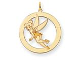 Disney Tinker Bell Round Charm style: WD284Y