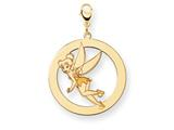 Disney Tinker Bell Round Lobster Clasp Charm style: WD285Y