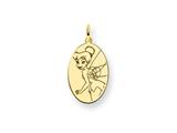 Disney Tinker Bell Oval Charm style: WD286GP