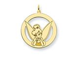 Disney Tinker Bell Round Charm style: WD288GP