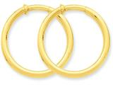 14k Non-pierced Hoop Earrings style: X98