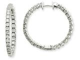 14kw Diamond Hinged Hoop Earring Mountings style: XE1354