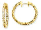 14ky Diamond Hinged Hoop Earring Mountings style: XE1356